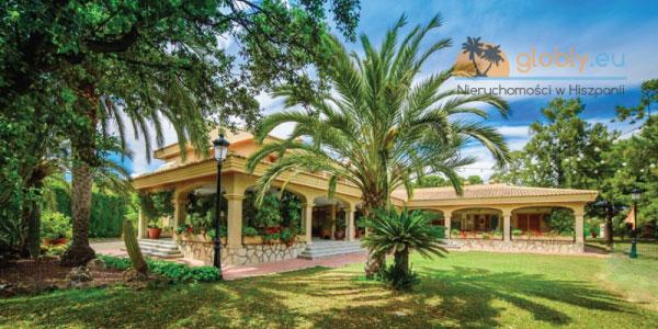Luksusowa Willa w Hiszpanii z pięknym ogrodem