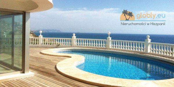 Nieruchomości w Hiszpanii z widokiem na morze