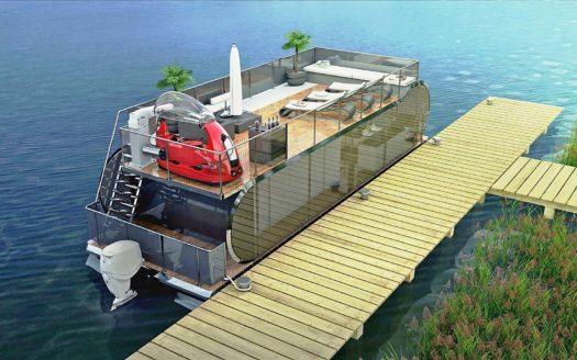 Houseboat na sprzedaż - konstrukcja houseboatów