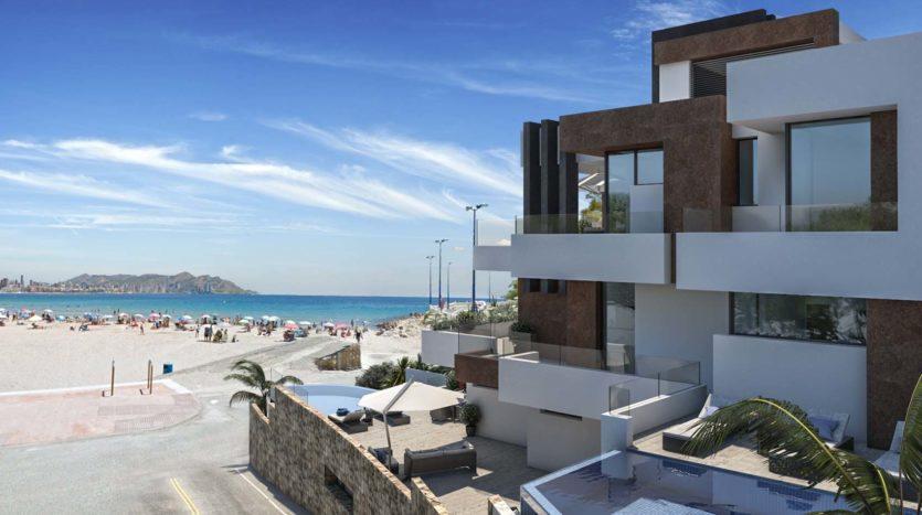 Nieruchomości w Hiszpanii blisko plaży
