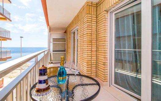 Apartament w Torrevieja z widokiem na morze