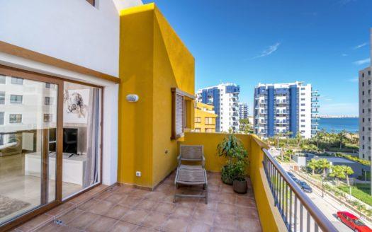 Apartament w Hiszpanii z widokiem na morze 200m od plaży