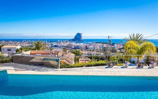 Luksusowe nieruchomości w Hiszpanii Calpe