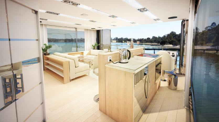 Houseboat na sprzedaż w Hiszpanii - wersja Luksusowa 5